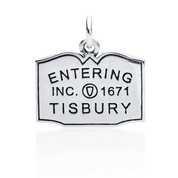 Entering Tisbury Town Sign charm