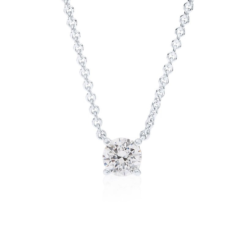 Wave Collection small pendant with cubic zirconia
