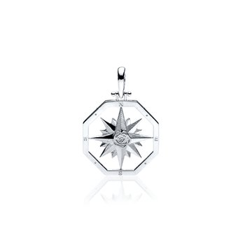 Small Compass Rose pendant