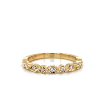18K Diamond Tessera Band