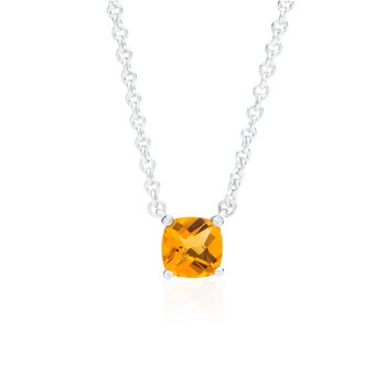 Wave Collection small pendant with citrine