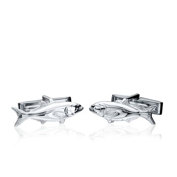 Bluefish cufflinks