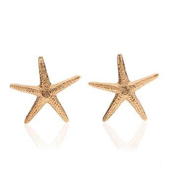 Starfish large earrings