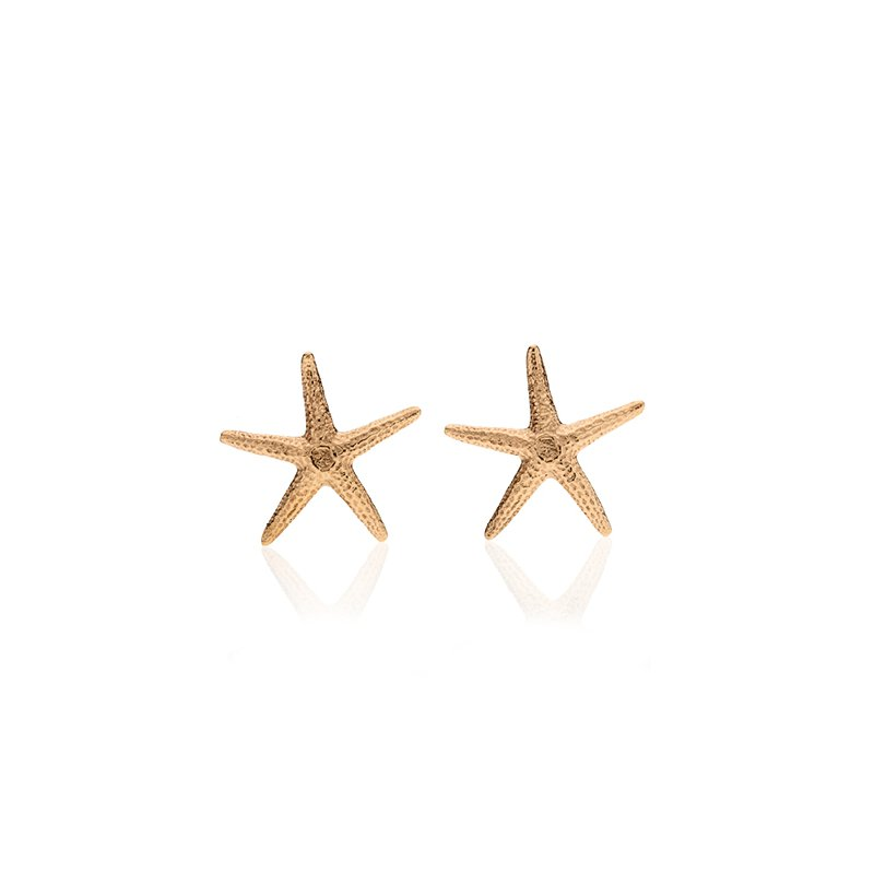 Starfish large earrings