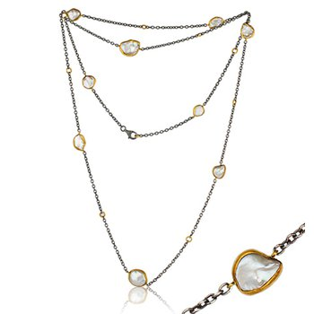 "Lika Behar ""Katya"" Keshi pearl necklace"