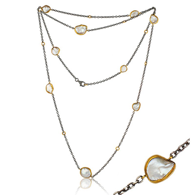"""Lika Behar """"Katya"""" Keshi pearl necklace"""
