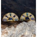 Sunrise earrings by Theresa Kaz