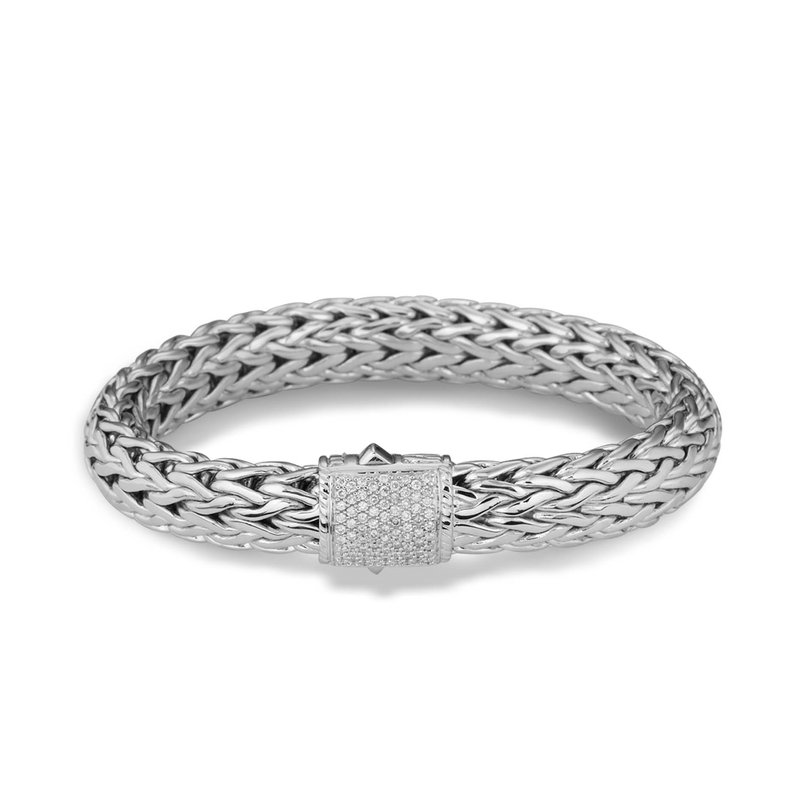 John Hardy Classic large chain bracelet with Diamonds