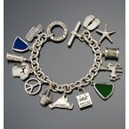 CB Stark Heavy Signature Toggle charm bracelet