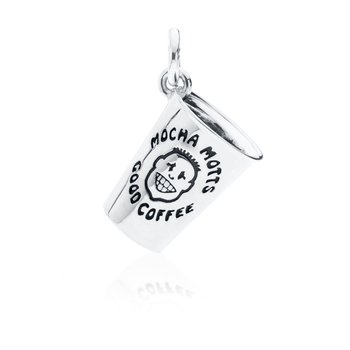 Mocha Mott's Coffee Cup Charm