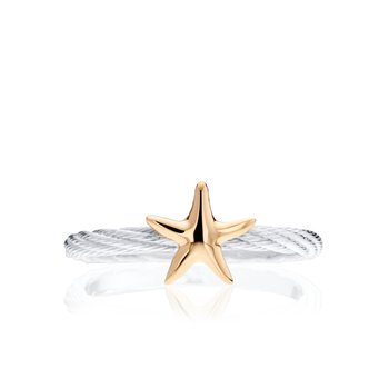 Cable ring with Starfish