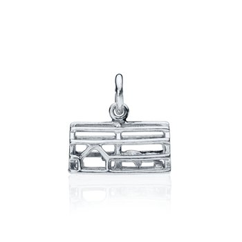 Lobster Trap charm with lobster inside