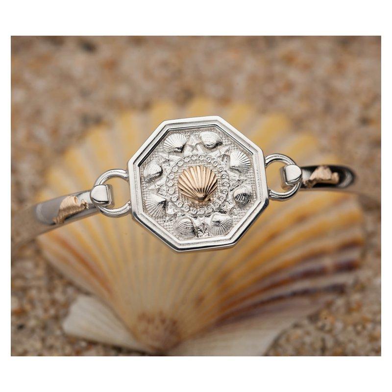 Martha's Vineyard Changeable Top bangle bracelet