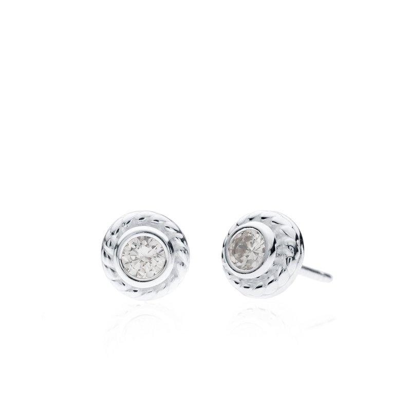 Rigging Collection Cubic Zirconia Stud earrings