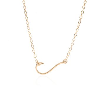 Fish Hook Necklace