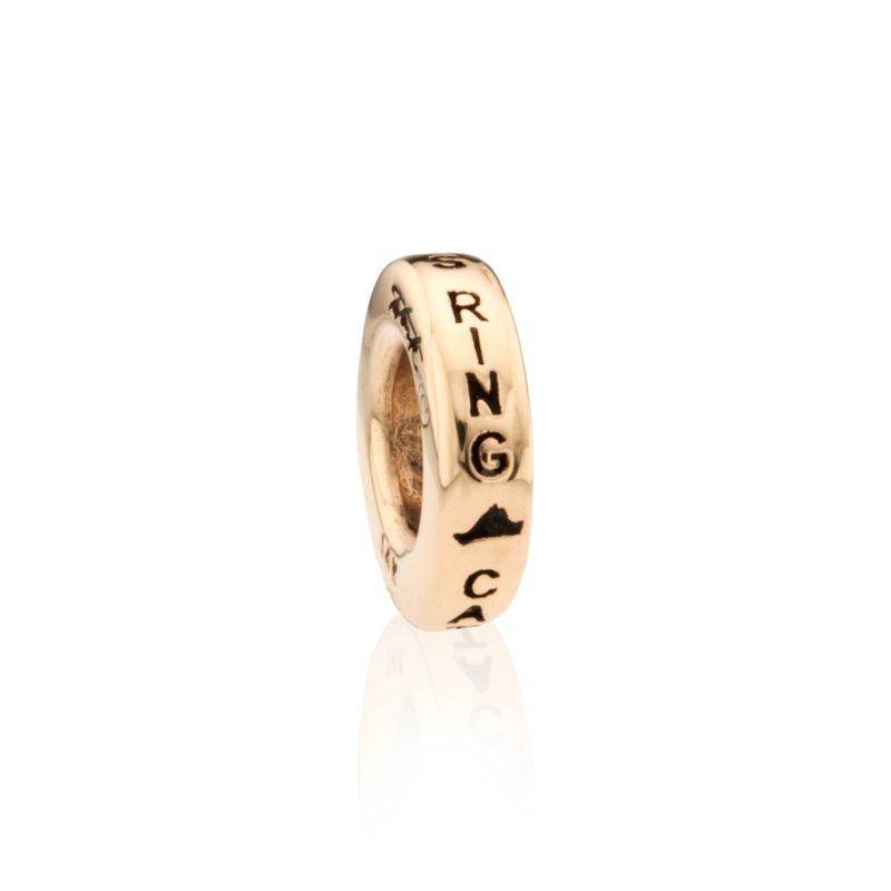 Catch the Brass Ring bead