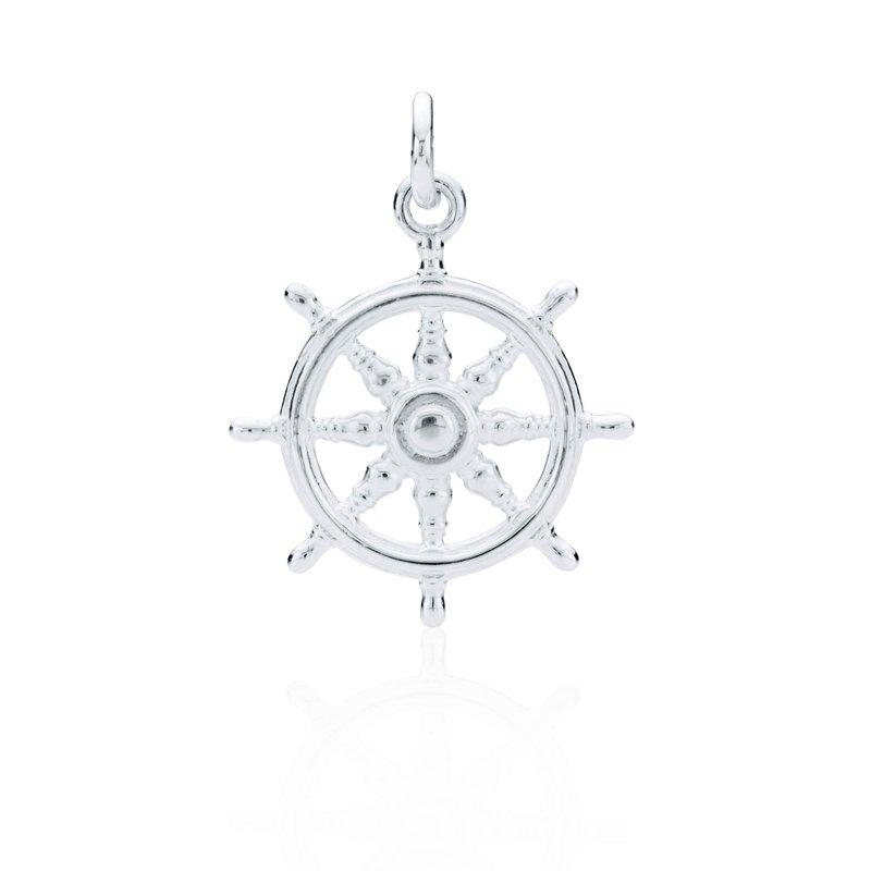 Charles W Morgan Ship's Wheel charm