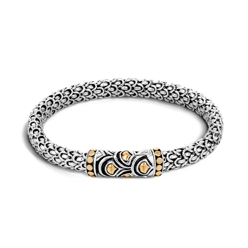 John Hardy small Naga station bracelet