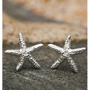 Starfish small earrings