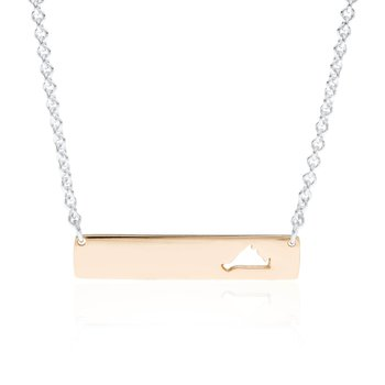 Martha's Vineyard Bar necklace