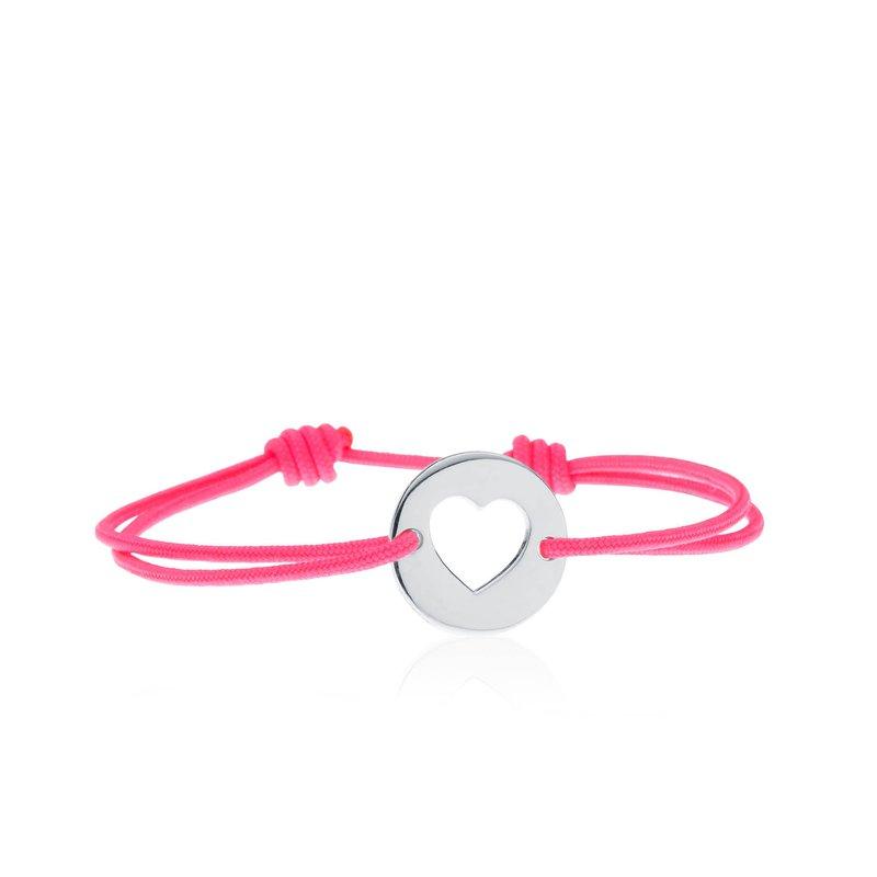 Heart Tie bracelet