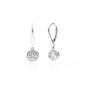 Rigging Collection Cubic Zirconia Drop earrings