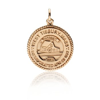 West Tisbury Town Seal charm