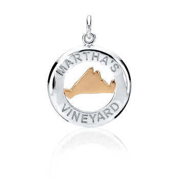 Martha's Vineyard Medallion charm