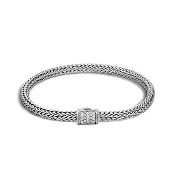 John Hardy Classic extra-small chain bracelet with Diamonds