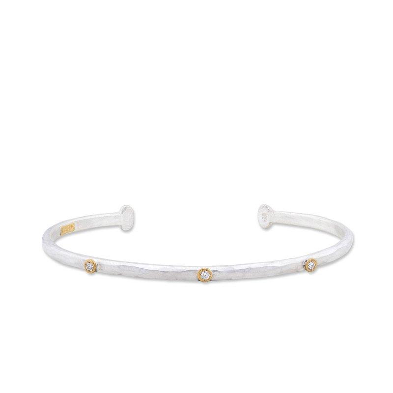 "Lika Behar ""Baby Stockholm"" Diamond Cuff Bracelet"