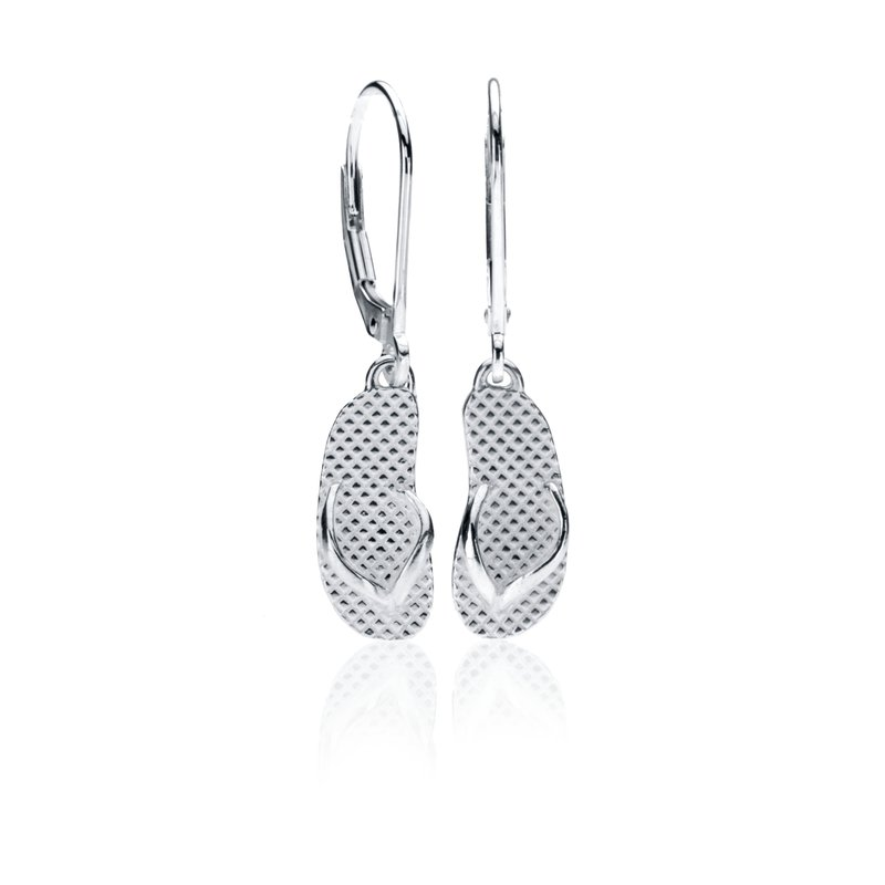 Flip Flop leverback earrings