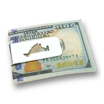 Martha's Vineyard Cutout Money Clip