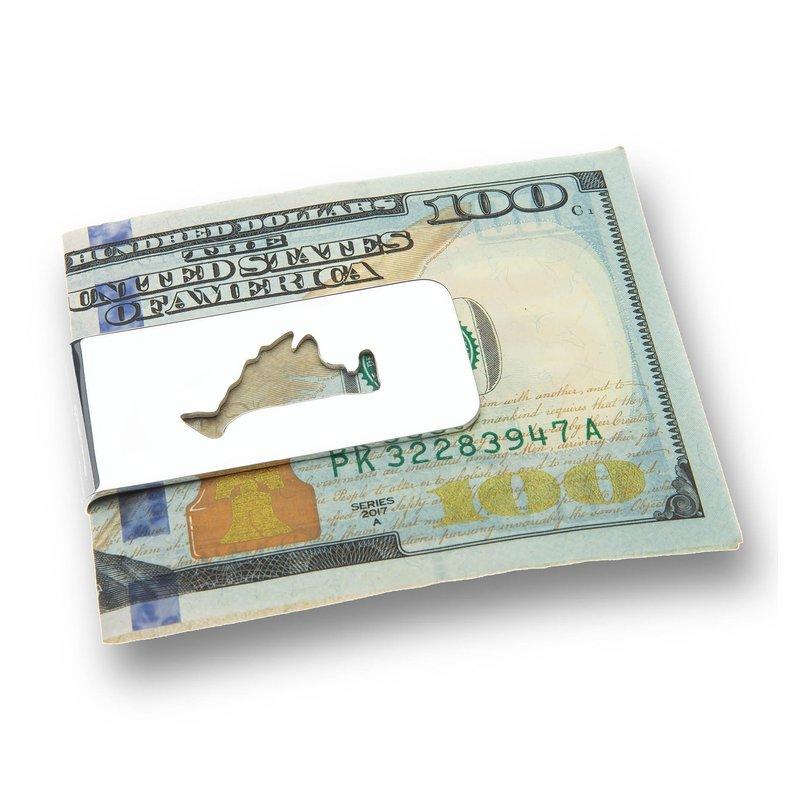 Martha's Vineyard Cutout Money Clip