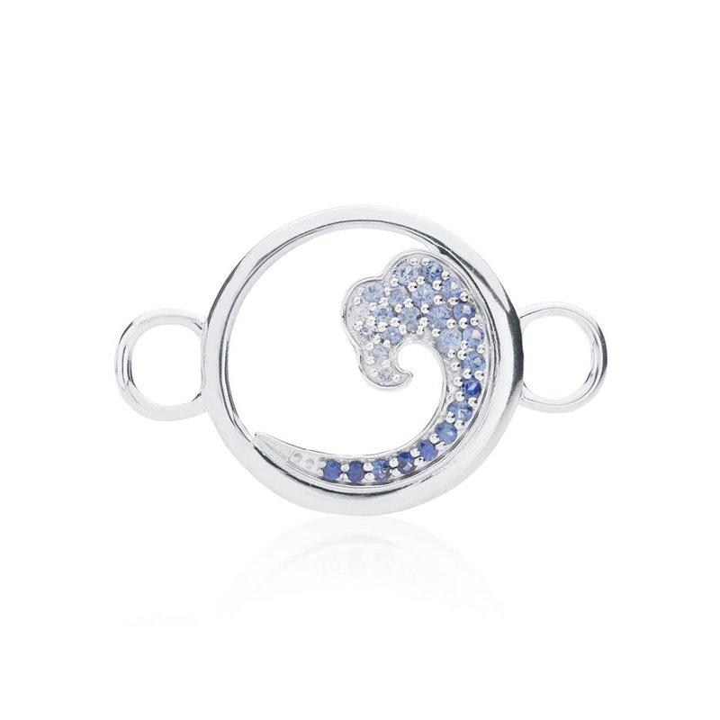 Sapphire Wave Changeable Bracelet Top