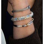 Ed Levin Signature bracelet with 14k gold Martha's Vineyard