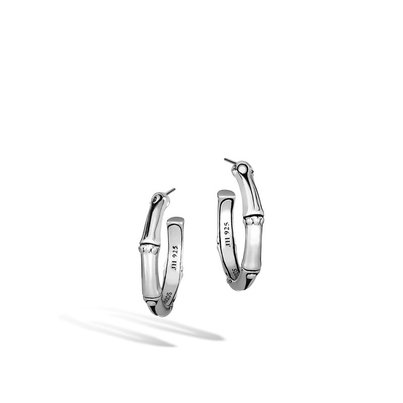 John Hardy Bamboo small hoop earrings