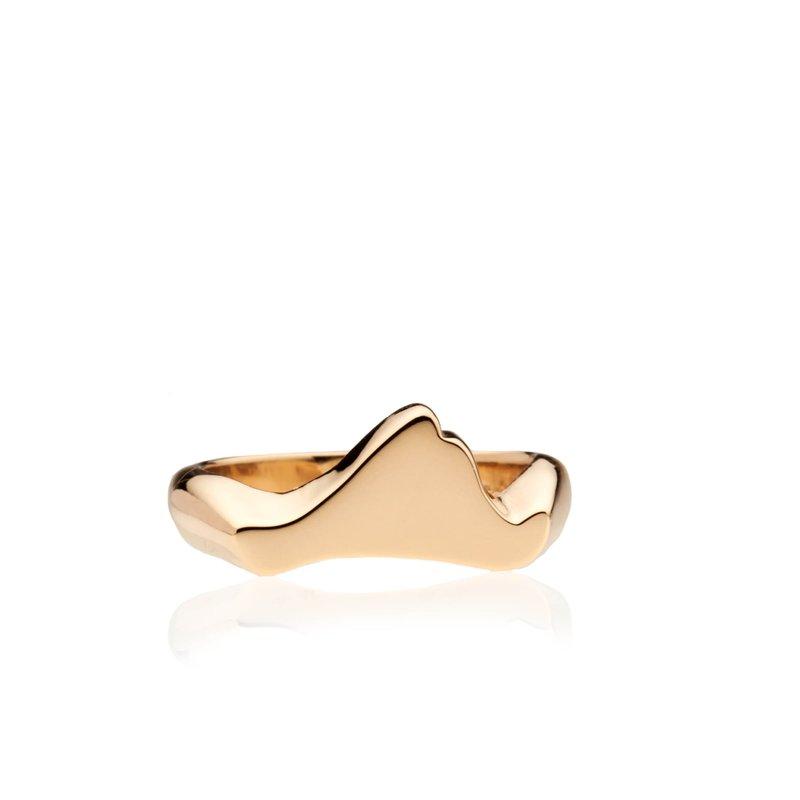 Contemporary Martha's Vineyard ring