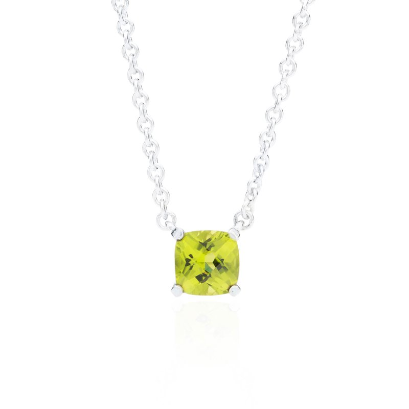 Wave Collection small pendant with peridot