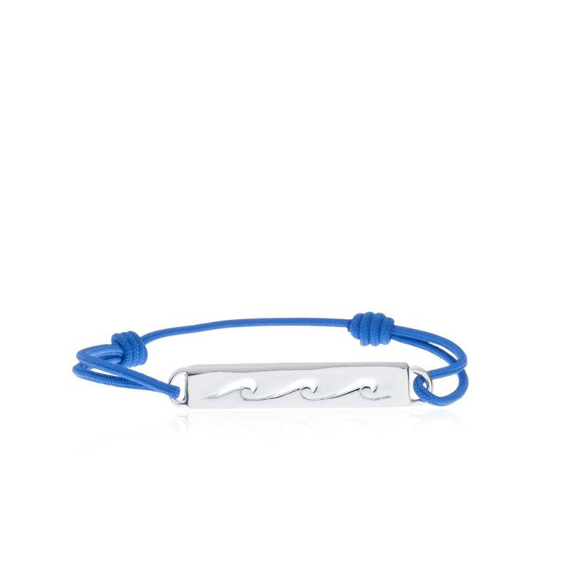 Wave Bar Tie bracelet