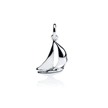 Little Spinnaker Sailboat charm