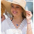 Seaglass Split Chain necklace
