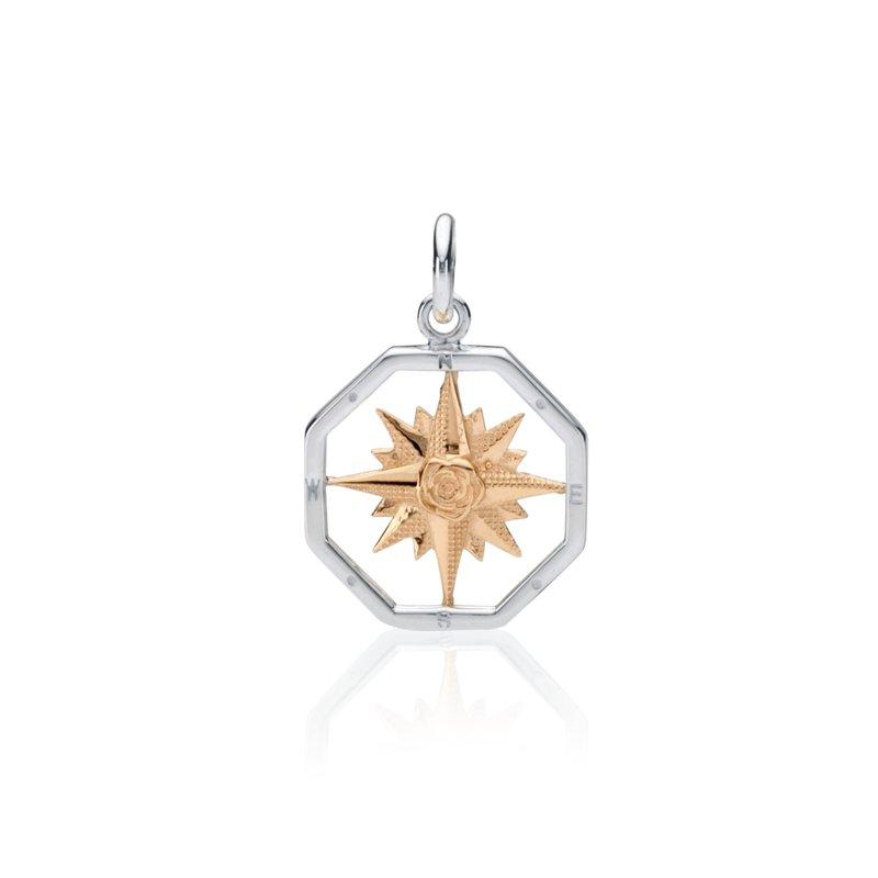 Compass Rose charm