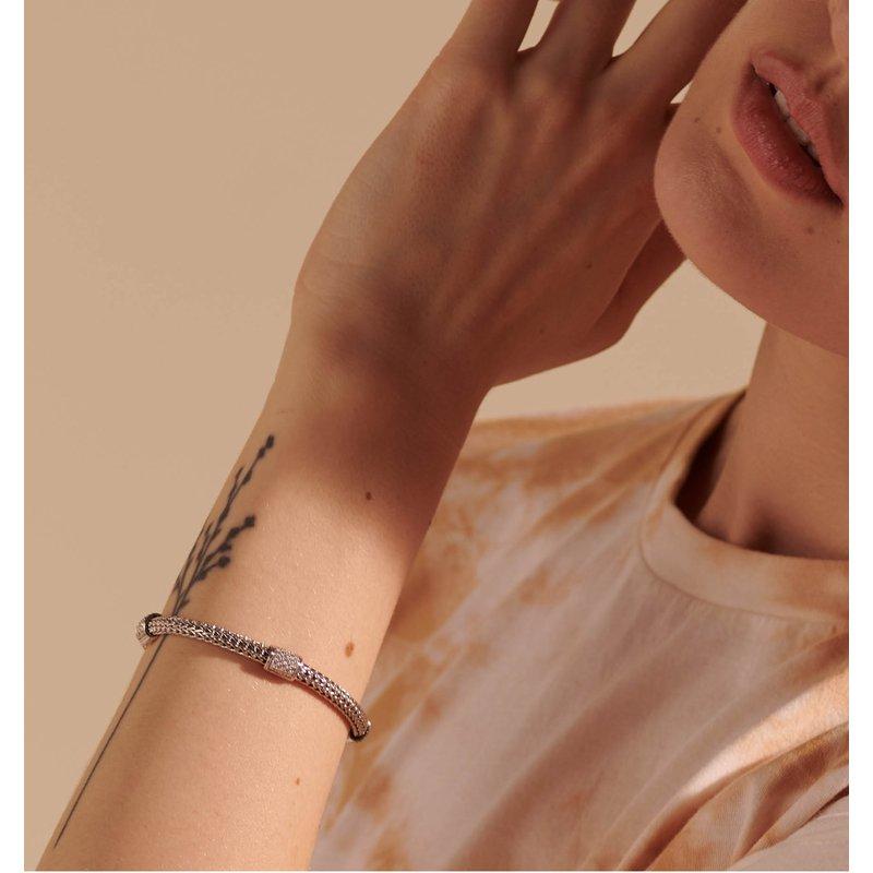 John Hardy Four Station bracelet with diamonds