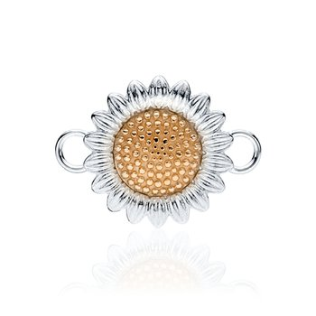 Sunflower charm changeable bracelet top