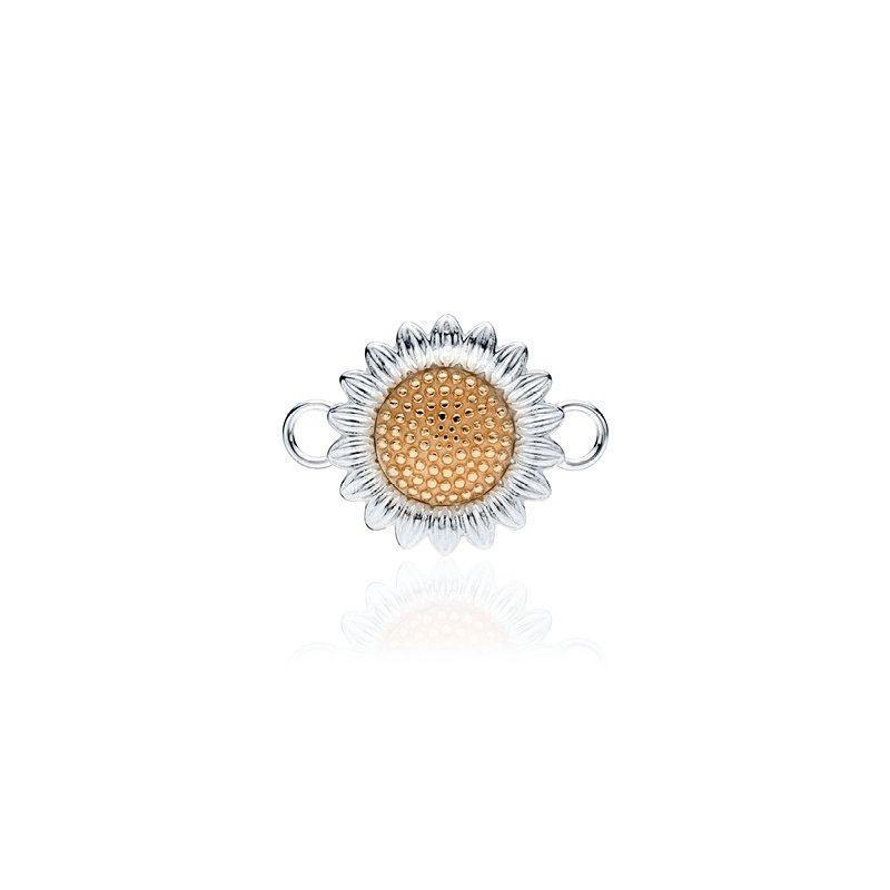 Sunflower charm changeable bracelet top