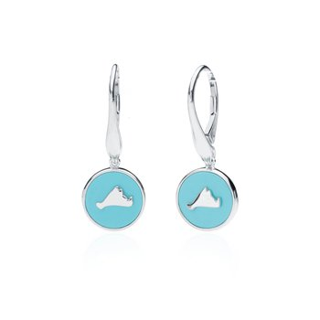 Vineyard Colors earrings in sterling silver