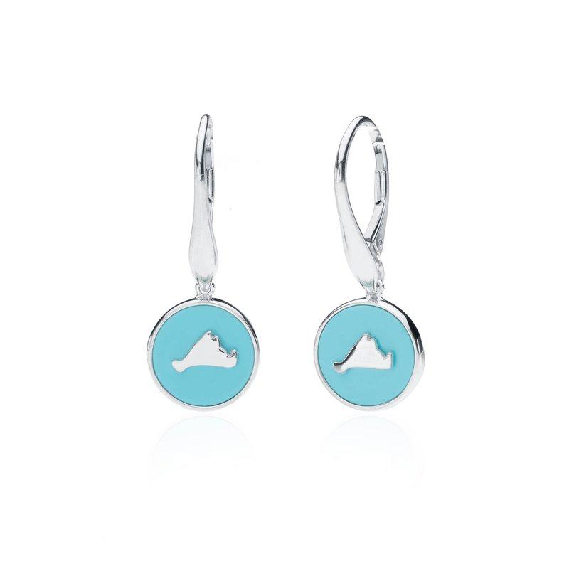 Vineyard Colors earrings in sterling silver