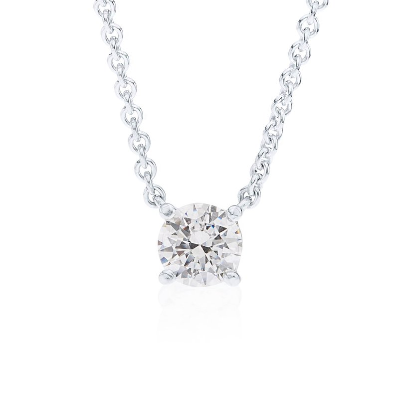 Wave Collection large pendant with cubic zirconia