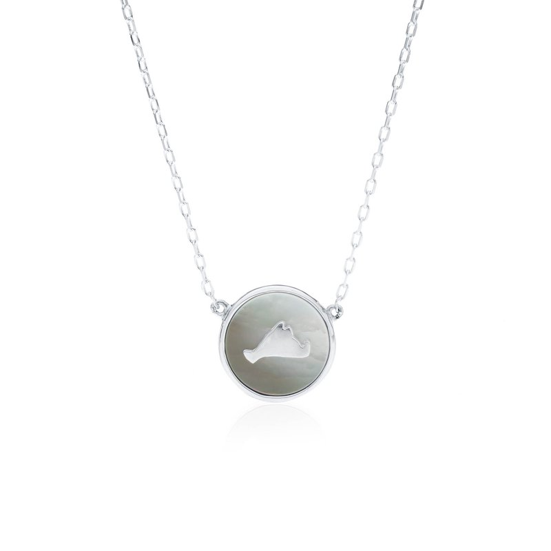 Vineyard Colors Necklace in sterling silver