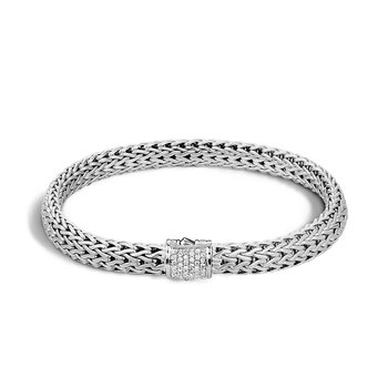 John Hardy Classic small chain bracelet with Diamonds